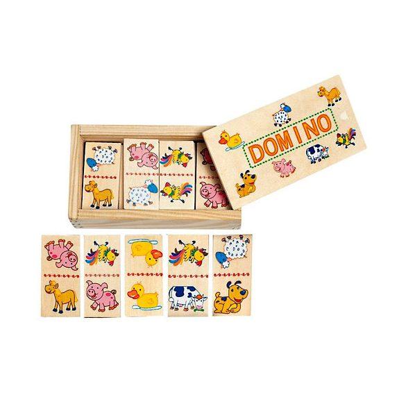 Domino állatos fajáték