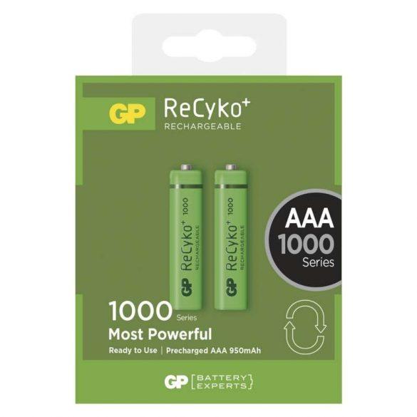 Elem Akkumulátor GP Recyko AAA 1000mAh