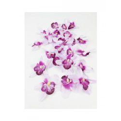 Orchidea virág,7 cm-es fejátmérő