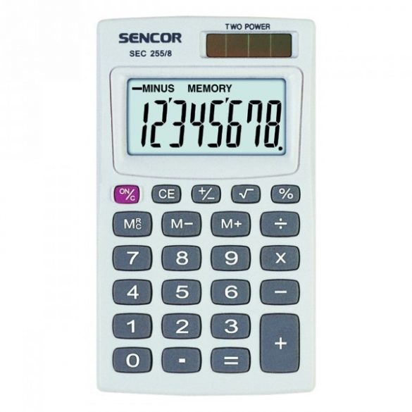 Számológép Sencor Sec 255/8 asztali