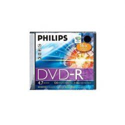 Lemez DVD-R 4.7GB Philips