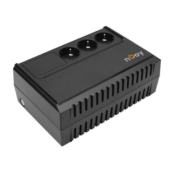 Hálózat Szünetmentes Njoy RENTON 650 650VA / 360W (Schuko x 3)