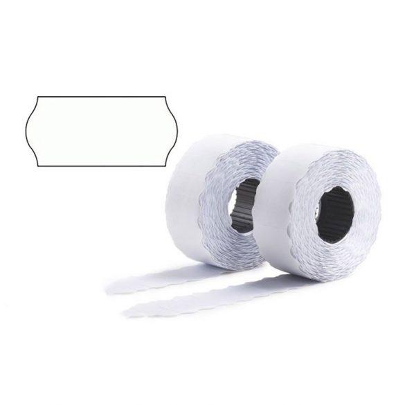 Árazószalag 25x16 Perforált fehér