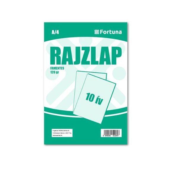 Rajzlap famentes (10 db/csomag) - A4