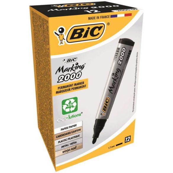 Alkoholos filc BIC 2000 Kerek heggyel - Több színben