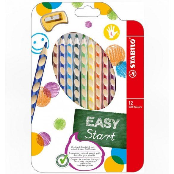 Stabilo Easy Start balkezeseknek kialakított színes ceruza készlet