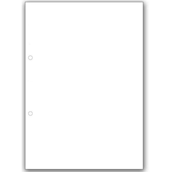 Gyűrűskönyv betét A5  Sima/vonalas/kockás