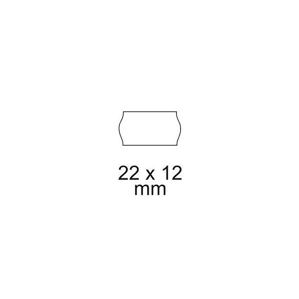 Árazószalag 12x22