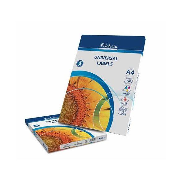 12 Etikett cimke/Lap Victoria A4