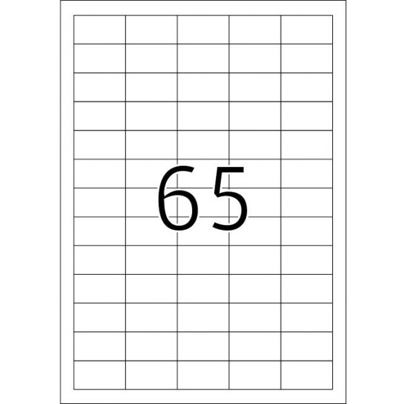65 Etikett cimke/Lap Victoria - A4