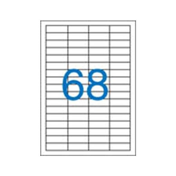 68 Etikett cimke/Lap Victoria A4