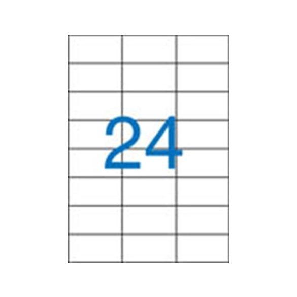 24 Etikett cimke/Lap  Victoria A4