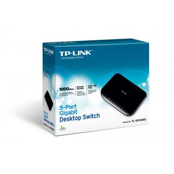 TP-Link TL-SG1005D Hálózati Switch (Gigabit)