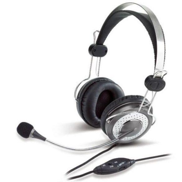 Audio Fejhallgató mikrofonnal Genius HS-04SU