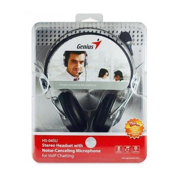 Audio Fejhallgató Genius HS-04SU