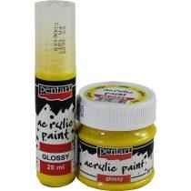 Akrilfesték AcrylicPaint Fényes 20 ml Több színben