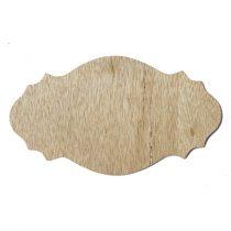 Fa házszám 13,5×23,5 cm