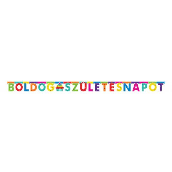 Party felirat - Boldog szülinapot (külön betűk) 2 m