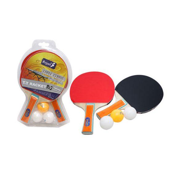 Ping-pong szett, 2 ütő, 3 labda