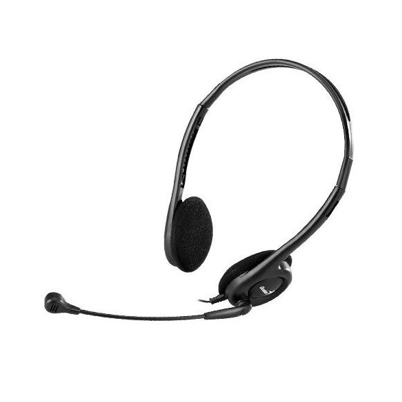 Audio Fejhallgató mikrofonnal - Genius HS-200C