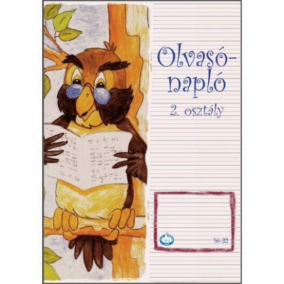 OLVASÓNAPLÓ 16-32 (2.OSZT.) - A/5