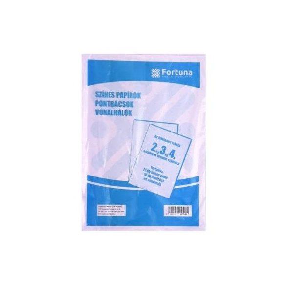 Színes papírkészlet - II-IV. osztályos