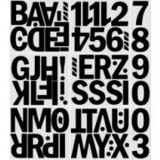 Öntapadós Betűk/számok 8-10cm