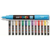 Posca toll UNI PC-1M (0,7 mm) -  Több színben