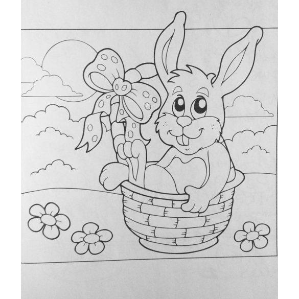 Húsvéti kifestő - A4 (8 lapos)