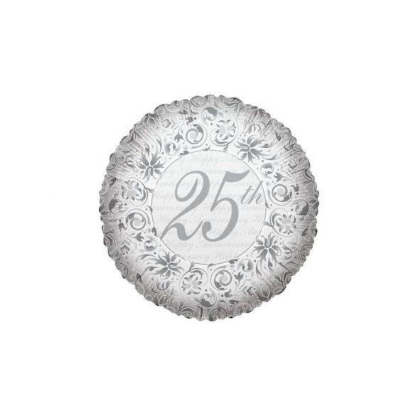 Fólia lufi, 25. házassági évfordulóra - 45 cm