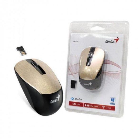 Egér Genius Optical Wireless NX-7015 Barna