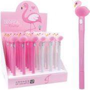 Golyóstoll figurás, Flamingós, lovas
