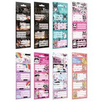 Lizzy Card Füzetcímkék - Több változatban