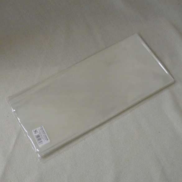 Celofán tasak, 15×35 cm