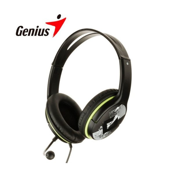 Audio Fejhallgató Genius HS-400A
