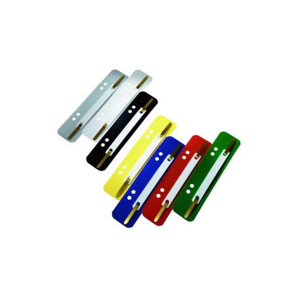 Gyorsfűzőlap PVC különböző színekben 25db/cs
