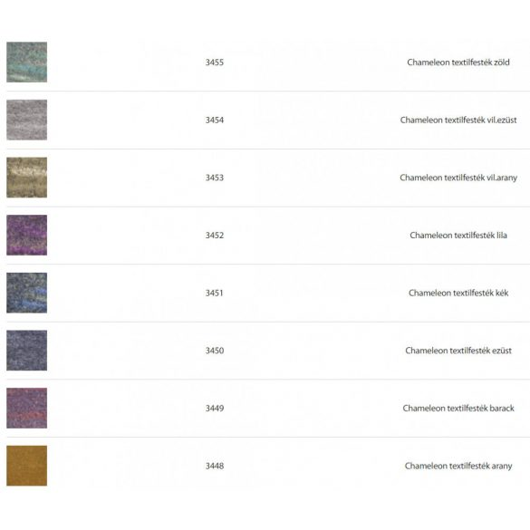 Textilfesték FabricPaint Chameleon  50 ml Több színben