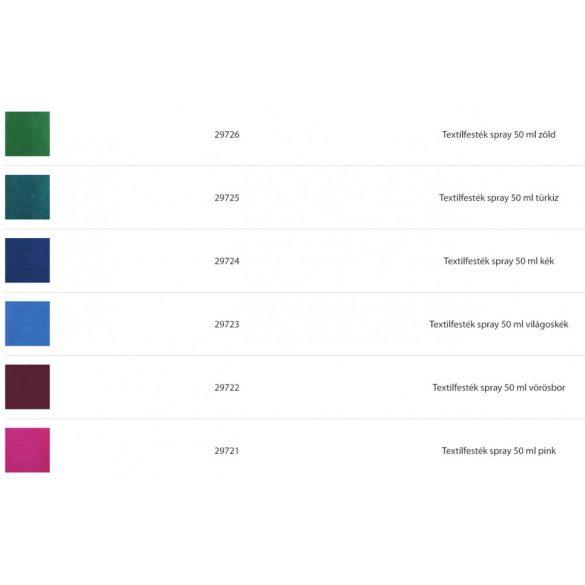 Textilfesték FabricMist SPRAY  50ml Több színben