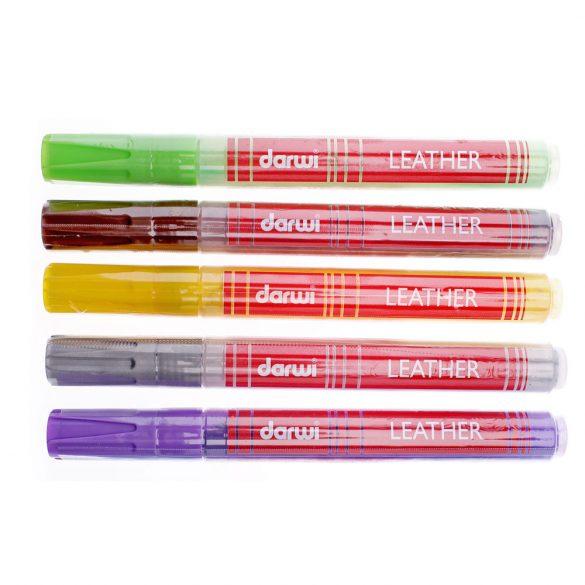Bőrfestő toll Darwi  LEATHER - Több színben