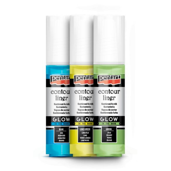 Kontúrozó festék ContourLiner 20ml Több színben