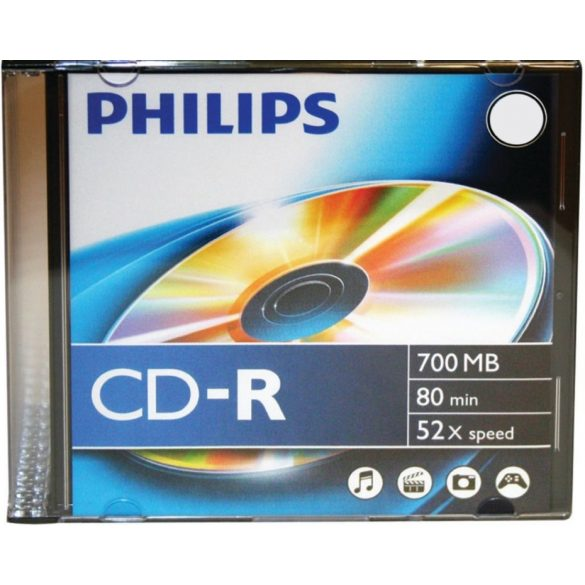 Lemez CD-R Philips/Verbatin