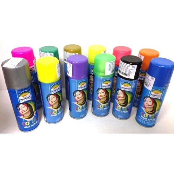 Hajszínező spray, különböző színek vagy glitteres