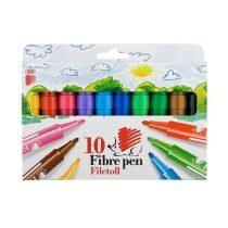 """ICO """"Süni""""Vastag Filctoll készlet - 10 különböző szín"""