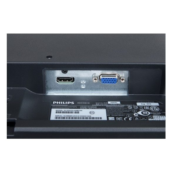 "Monitor Philips 21.5"" 223V5LHSB2"