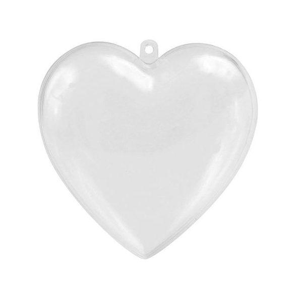 Műanyag gömb, szív, csillag, fenyőfa