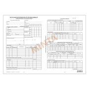 Külföldi kiküldetési utasítás és költségelszámolás 2x2 pld. A/3