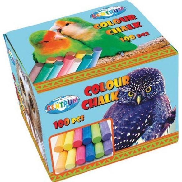 Hagyományos Táblakréta, színes - 100 db