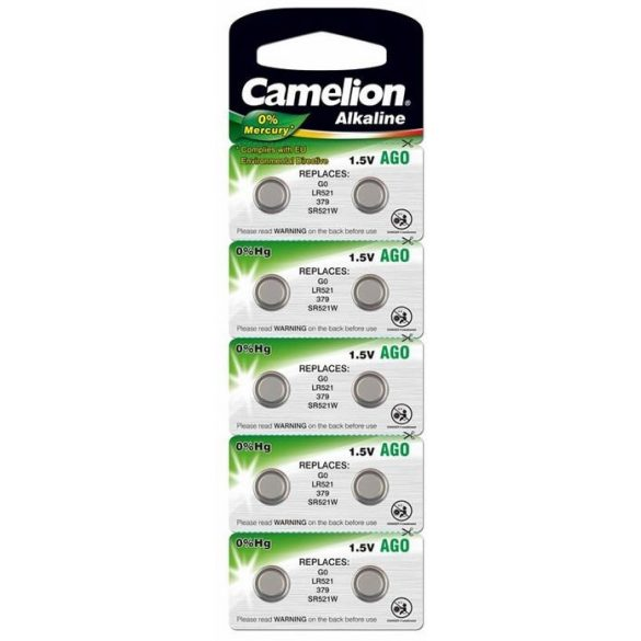 Gombelem CAMELION AG0 ( LR521)