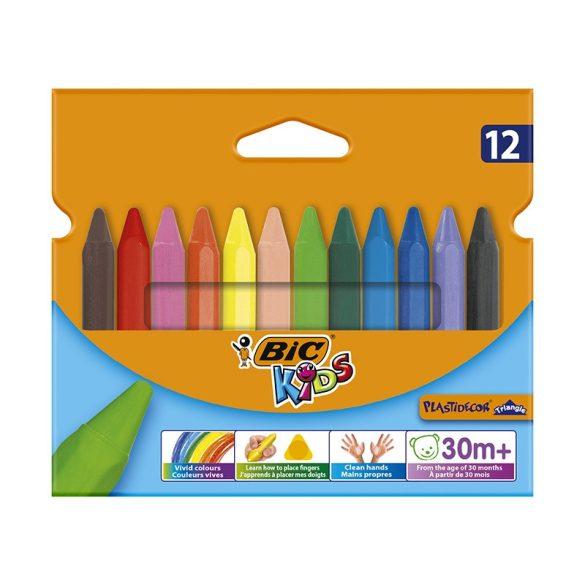 Zsírkréta BIC Kids - 12db-os készlet