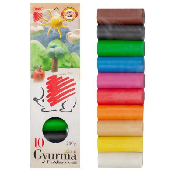 Gyurma ICO - Színes (kicsi)